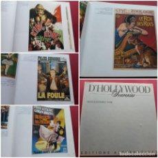 Libros de segunda mano: D´HOLLYWOOD SOUVENIRS FICHAS Y POSTERS DEL CINE DE HOLLYWOOD DE 1925-1950 EDITIONS ALTERNATIVES 86. Lote 243218250