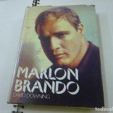 Libros de segunda mano: MARLON BRANDO - DAVID DOWNING -EN INGLES - N 12. Lote 243981390