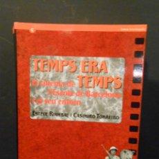 """Libros de segunda mano: TEMPS ERA TEMPS. EL CINEMA DE L'ESCOLA DE BARCELONA I EL SEU ENTORN. - """"RIAMBAU, ESTEVE; T"""". Lote 244012950"""