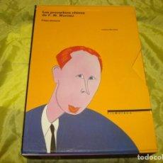 Libros de segunda mano: LOS PROVERBIOS CHINOS DE F.W.MURNAU. ETAPA ALEMANA. LUCIANO BERRIATUA. FILMOTECA ESPAÑOLA. 2 VOL.. Lote 244411645