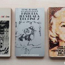 Libros de segunda mano: HISTORIA ILUSTRADA DEL CINE. RENÉ JEANNE. ALIANZA EDITORIAL, 1981.. Lote 245059120