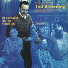 Libros de segunda mano: EL CARNAVAL DE LAS TINIEBLAS. EL MUNDO SECRETO DE TODBROWNING... DAVID J. SKAL Y ELIAS SAVADA. Lote 245391475