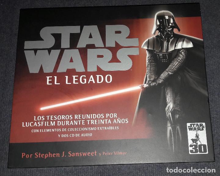 STAR WARS EL LEGADO CAELUS BOOKS (Libros de Segunda Mano - Bellas artes, ocio y coleccionismo - Cine)