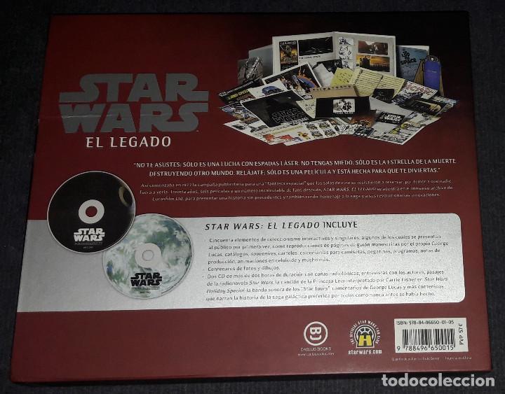 Libros de segunda mano: STAR WARS EL LEGADO CAELUS BOOKS - Foto 2 - 246164655