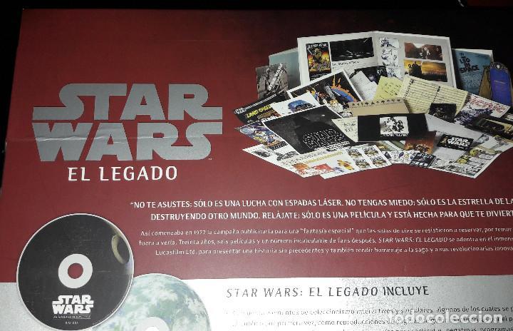 Libros de segunda mano: STAR WARS EL LEGADO CAELUS BOOKS - Foto 8 - 246164655