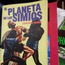 Libros de segunda mano: EL PLANETA DE LOS SIMIOS. ¿REALIDAD O FICCIÓN? SANTI HERNANDEZ. 1999. 112 PÁGINAS. Lote 246269350