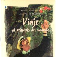 Libros de segunda mano: VIAJE AL PRINCIPIO DEL MUNDO. FESTIVAL DE CANNES 1997. MARCELO MASTROIANNI. (P/C27). Lote 246285825