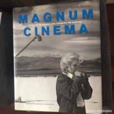 Livros em segunda mão: MAGNUM CINEMA : HISTÒRIES DE CINEMA PELS FOTÒGRAFS DE MAGNUM DE ALAIN BERGALA 1994. Lote 247259945