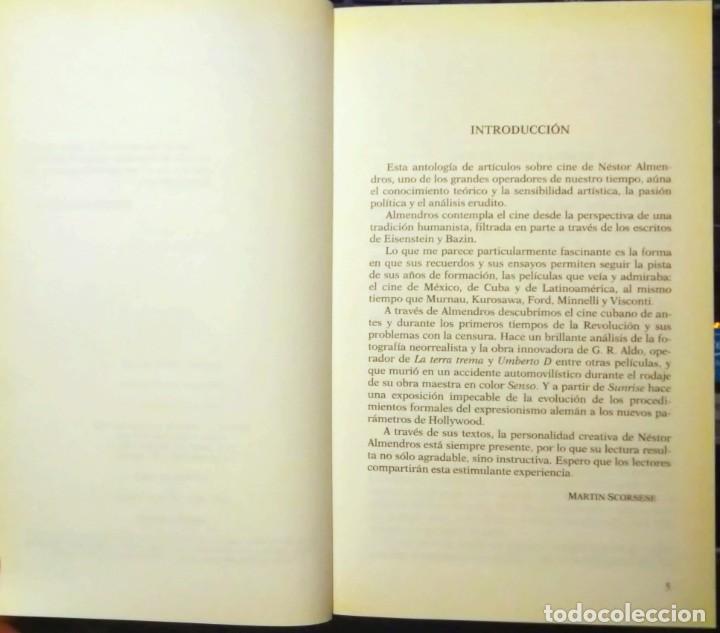 Libros de segunda mano: Cinemanía. Ensayos sobre cine, Néstor Almendros. Seix Barral. - Foto 3 - 247326730