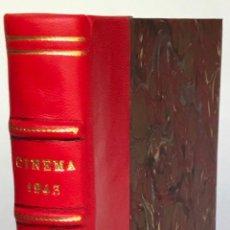 Libros de segunda mano: COMITÉ D'ORGANISATION DE L'INDUSTRIE CINÉMATOGRAPHIQUE. CINEMA 1943. OEUVRES SOCIALES DU CINÉMA.. Lote 247949215