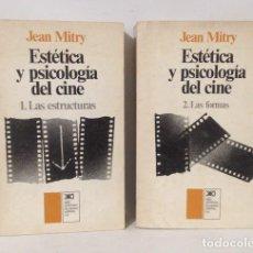 Libros de segunda mano: ESTÉTICA Y PSICOLOGÍA EN EL CINE. JEAN MITRY. 1978. DOS VOLÚMENES. PRIMERA EDICIÓN. Lote 249072800