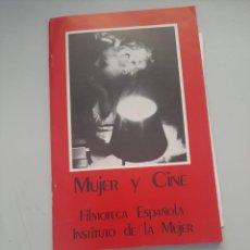 Libros de segunda mano: MUJER Y CINE. Lote 249255900