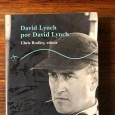 Libros de segunda mano: DAVID LUNCH POR DAVID LYNCH. CHRIS RODLEY, EDITOR. EDIT. TRAYEDFTOS. CINE. Lote 249526305