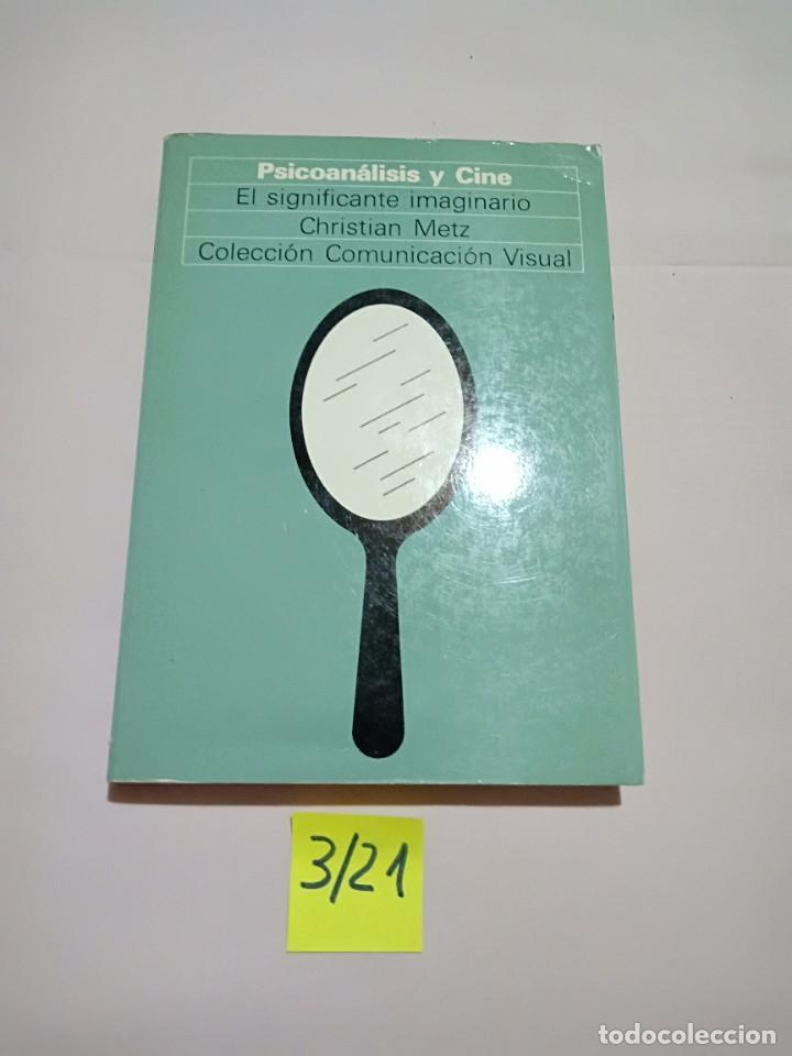 LIBRO PSICOANÁLISIS Y CINE, CRISTIAN METZ (Libros de Segunda Mano - Bellas artes, ocio y coleccionismo - Cine)