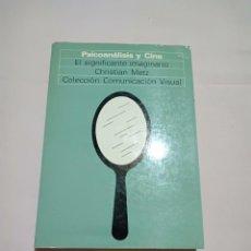 Libros de segunda mano: LIBRO PSICOANÁLISIS Y CINE, CRISTIAN METZ. Lote 251576420