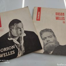 Libros de segunda mano: TEMAS DE HOY. ORSON WELLES TOMOS I Y II JUAN COBOS ED. FILM IDEAL 1962 BUEN ESTADO. Lote 251842330