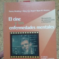 Libros de segunda mano: EL CINE Y LAS ENFERMEDADES MENTALES. HERRAMIENTAS DE COMUNICACIÓN Y FORMACION. A-CI-856. Lote 252572565