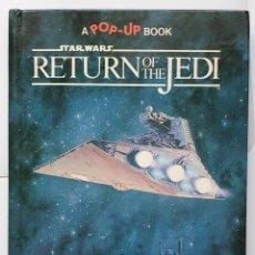 Libros de segunda mano: STAR WARS: POP UP RETORNO DEL JEDI 1983. Lote 253279750