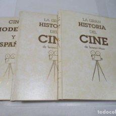 Libros de segunda mano: TERENCI MOIX LA GRAN HISTORIA DEL CINE (3 TOMOS) W6513. Lote 254522615
