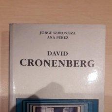 Libros de segunda mano: DAVID CRONENBERG. JORGE GOROSTIZA. CÁTEDRA.. Lote 254907960