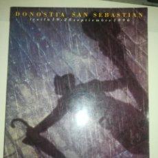 Libros de segunda mano: 44 FESTIVAL DE CINE DE SAN SEBASTIAN DONOSTIA - 1997 CATALOGO OFICIAL. Lote 254929845