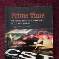 Libros de segunda mano: PRIME TIME LAS MEJORES SERIES DE TV AMERICANAS DE C.S.I. A LOS SOPRANO - CASCAJOSA. Lote 255486235
