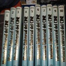 Libros de segunda mano: HISTORIA UNIVERSAL DEL CINE - 10 TOMOS, COLECCIÓN COMPLETA - ED. PLANETA 1990. Lote 256123700