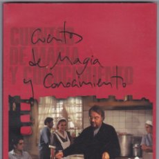 Libros de segunda mano: CUENTOS DE MAGIA Y CONOCIMIENTO EL CINE FE MANUEL GUTIERREZ ARAGON EDITA ATLAS FILMS 1988. Lote 259877470