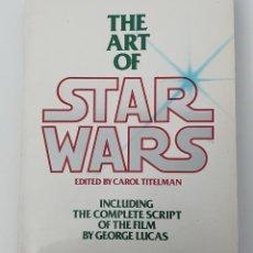 Libros de segunda mano: THE ART OF STAR WARS. Lote 261126125