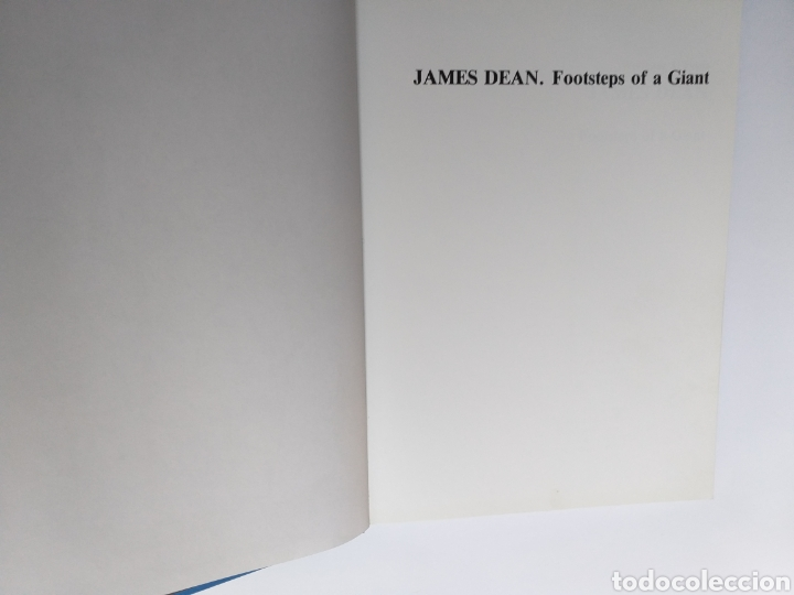 Libros de segunda mano: James Dean Footsteps of a Giant. Wolfgang J. Fuchs - Foto 8 - 261588850