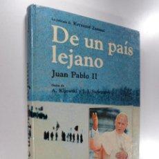 Libros de segunda mano: DE UN PAÍS LEJANO JUAN PABLO II PELÍCULA KRYSZTOF ZANUSSI. Lote 262843180