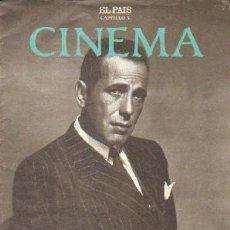 Libros de segunda mano: CINEMA CAPITULO 5 (EL PAIS): BOGART, TRAS LA PISTA DEL CINE NEGRO. A-CI-962. Lote 263025180