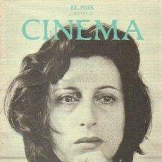 Libros de segunda mano: CINEMA CAPITULO 12 (EL PAIS): ANNA MAGNANI, EL CORAZON DEL REALISMO. A-CI-969. Lote 263025570