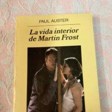 Libros de segunda mano: LA VIDA INTERIOR DE MARTIN FRÖST. Lote 263065470
