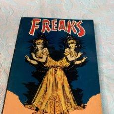 Libros de segunda mano: FREAKS,CINEMA OF THE BIZARRE. Lote 263142580