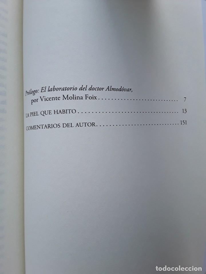 Libros de segunda mano: Pedro Almodóvar - La piel que habito (Anagrama, 2012) Primera ed. Prólogo V. Molina Foix - Foto 4 - 263177375