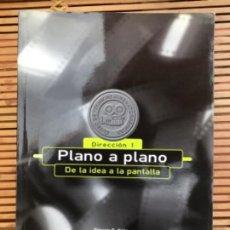 Libros de segunda mano: PLANO A PLANO. DE LA IDEA A LA PANTALLA. DIRECCIÓN 1. STEVEN D. KATZ.. Lote 265925913