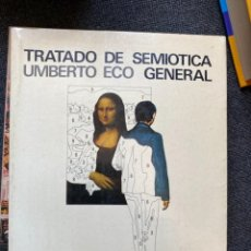 Libros de segunda mano: TRATADO DE SEMIÓTICA. Lote 266367018