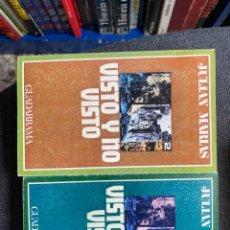 Libros de segunda mano: VISTO Y NO VISTO (DOS TOMOS). Lote 266385543