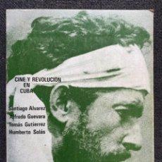Libros de segunda mano: CINE Y REVOLUCIÓN EN CUBA. Lote 266385938