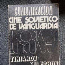 Libros de segunda mano: CINE SOVIÉTICO DE VANGUARDIA. Lote 266386758