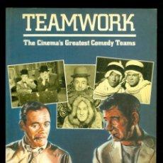Libros de segunda mano: LIBRO DE CINE TEAMWORK THE CINEMA´S GREATEST COMEDY TEAMS DE JEFFREY ROBINSON. Lote 267018014