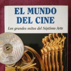 Livros em segunda mão: EL MUNDO DEL CINE LOS GRANDES MITOS DEL SEPTIMO ARTE + CD MUSICA DE CINE - OCEANO. Lote 267716569