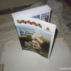 Livres d'occasion: DICCIONARIO CINE BELICO 2009 FICHAS TECNICAS, CARTELES..1680 FILMS, SPIELBERG, KUBRICK..DESCATALOGAD. Lote 267761129