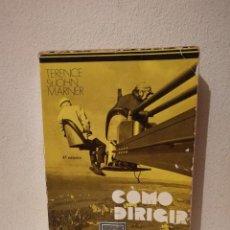 Libros de segunda mano: LIBRO - COMO DIRIGIR CINE - TERENCE ST JOHN MARNER - EDITORIAL FUNDAMENTOS. Lote 269015814