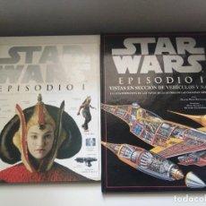 Libros de segunda mano: STAR WARS EPISODIO I DICCIONARIO VISUAL DE PERSONAJES Y EQUIPOS/VISTAS EN SECCION DE VEHICULOS Y NAV. Lote 269096128