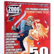 Libros de segunda mano: FANZINE 2000 MANIACOS 50 (VVAA) MANUEL VALENCIA, 2017. NVED. Lote 269187558