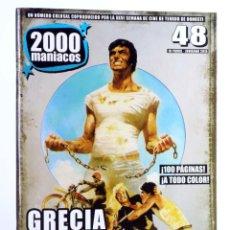 Libros de segunda mano: FANZINE 2000 MANIACOS 48. GRECIA SALVAJE (VVAA) MANUEL VALENCIA, 2015. NVED. Lote 269187562