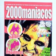 Libros de segunda mano: FANZINE 2000 MANIACOS 26. BIZARRE LATINO (VVAA) MANUEL VALENCIA, 2002. NVED. Lote 269187566