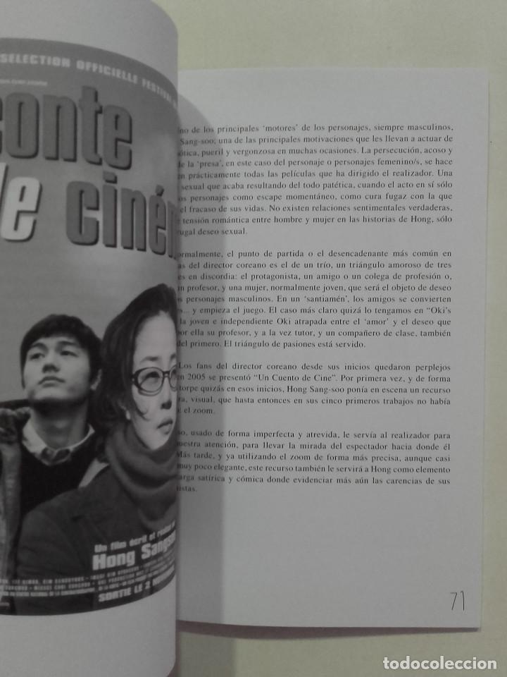 Libros de segunda mano: EL CINE DE HONG SANG-SOO - FESTIVAL INTERNACIONAL DE CINE DE GIJÓN - 2013 - Foto 3 - 269695533